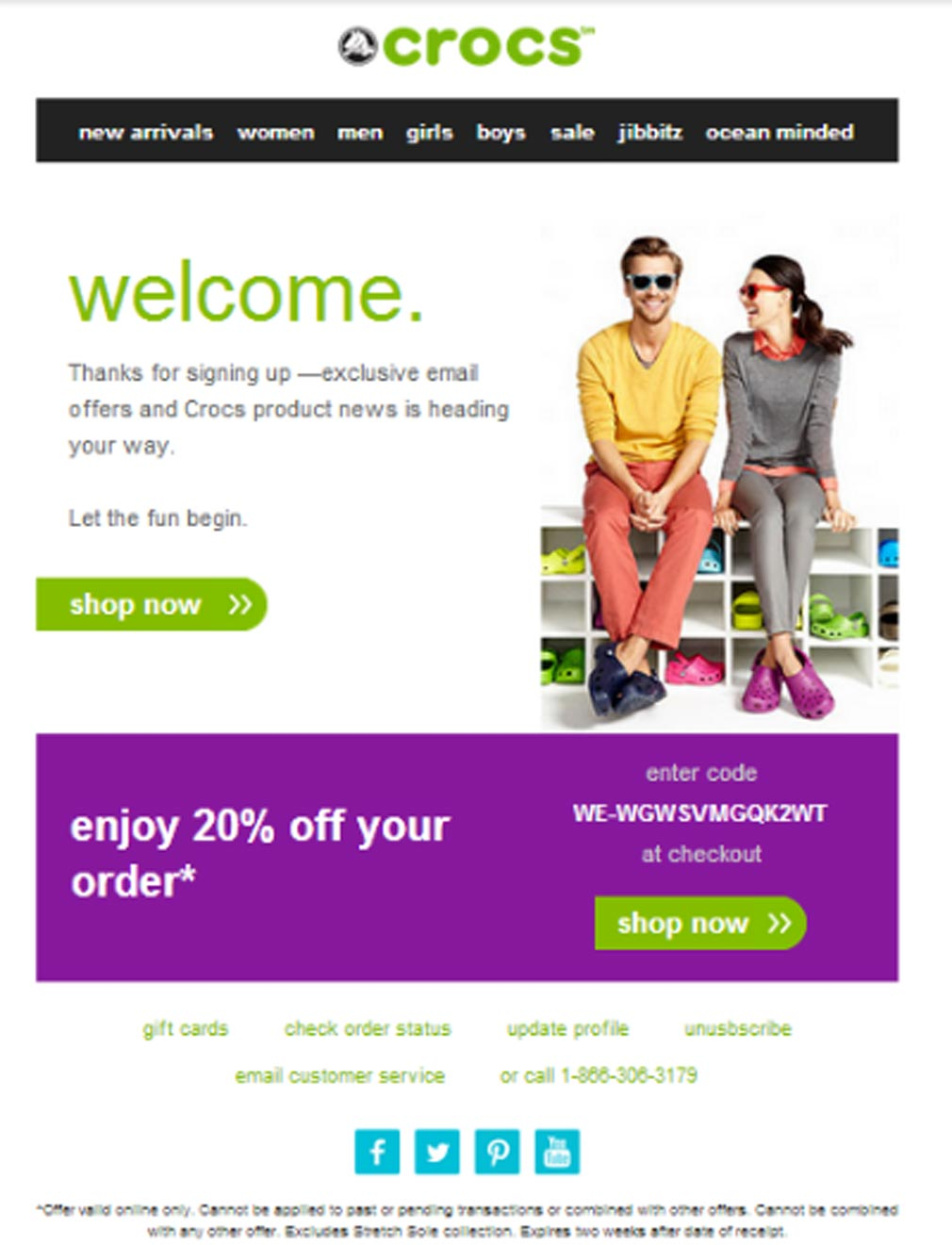 1 Welcome-Email-Crocs