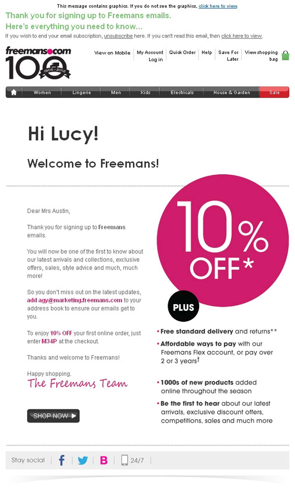 1 Welcome-Email-Freemans